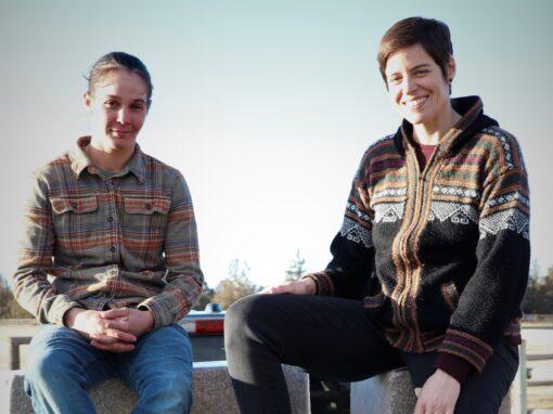 Karen Rugg and Ashley Bice