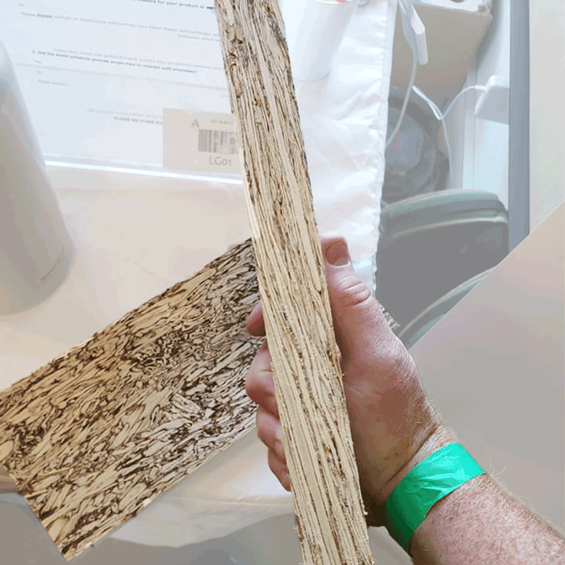 dimensional hemp wood